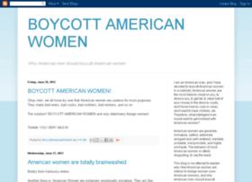 boycottamericanwomen.blogspot.com