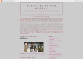 boycotted-uk-academic.blogspot.com