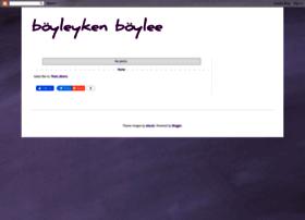 boyleykenboylee.blogspot.com.tr