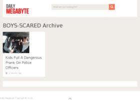 boys-scared.dailymegabyte.com