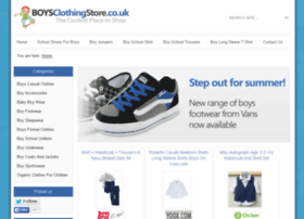 boysclothingstore.co.uk