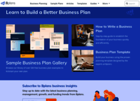 Business Plan For Online Store