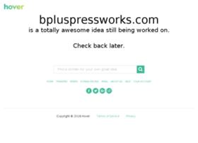 bpluspressworks.com