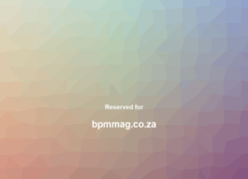 bpmmag.co.za