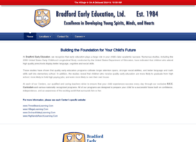 bradfordearlyeducation.com