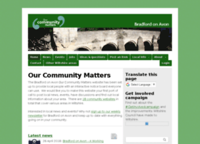 bradfordonavon.ourcommunitymatters.org.uk