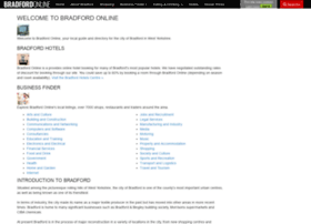 bradfordonline.co.uk