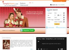brahmin-matrimonial.simplymarry.com