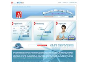 brahminmarriagetimes.com