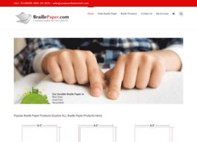 braillepaper.com