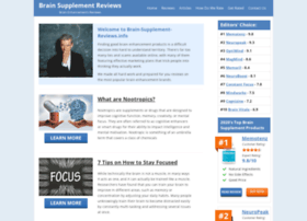 brain-supplement-reviews.info