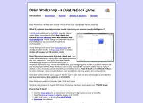 brainworkshop.net
