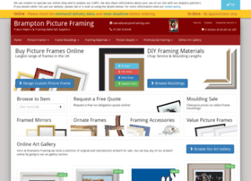 bramptonframing.com