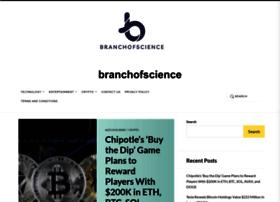 branchofscience.com