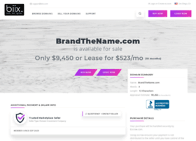 brandthename.com