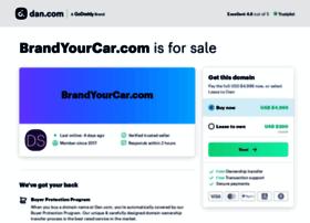 brandyourcar.com