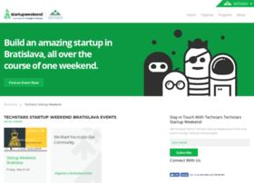 bratislava.startupweekend.org