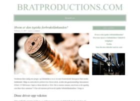 bratproductions.org