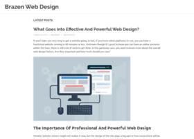 brazenwebdesign.com