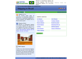 brazil.shipping-international.com