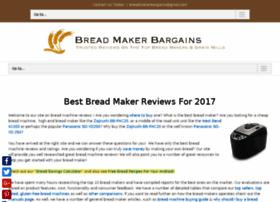 breadmakerbargains.com