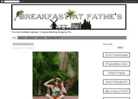 breakfastatfaymes.blogspot.com
