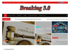 breaking3zero.com