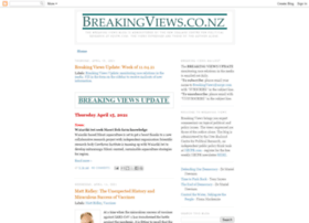 breakingviewsnz.blogspot.co.nz