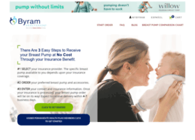 breastpumps.byramhealthcare.com