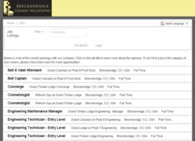 breckenridgegrandvacations.applicantpool.com