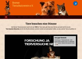 bremer-tierschutzverein.de