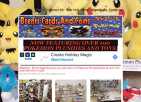 brentscardsandcoins.com