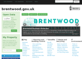 brentwood.gov.uk