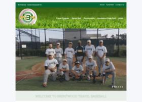 brentwoodbaseball.com