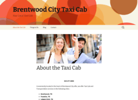 brentwoodcitytaxicab.com