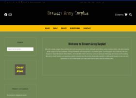 brewersarmysurplus.com