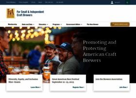 brewersassociation.org