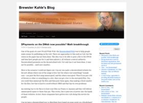 brewster.kahle.org