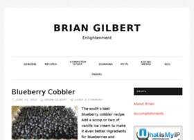 briansgilbert.com