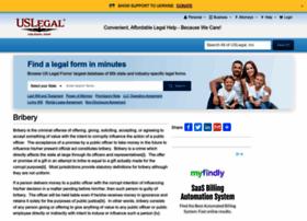 bribery.uslegal.com