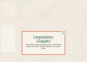 brickovenrestaurants.com