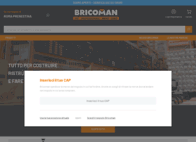 Info bricoman italia torino catalogo prodotti for Catalogo bricoman elmas