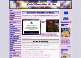 bridal-shower-ideas-for-you.com