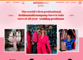 bridesmaidforhire.com