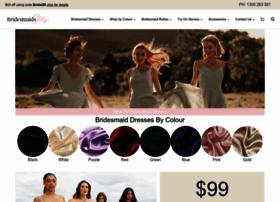 bridesmaidsonly.com.au