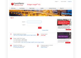 bridger.lexisnexis.com