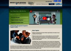 bridgescourtreporting.com