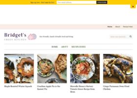 bridgetsgreenkitchen.com