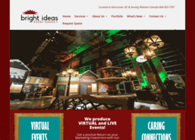 brightideasevents.com