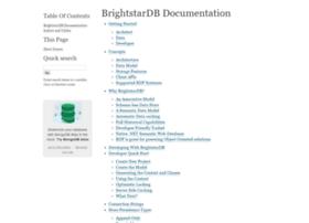 brightstardb.readthedocs.org